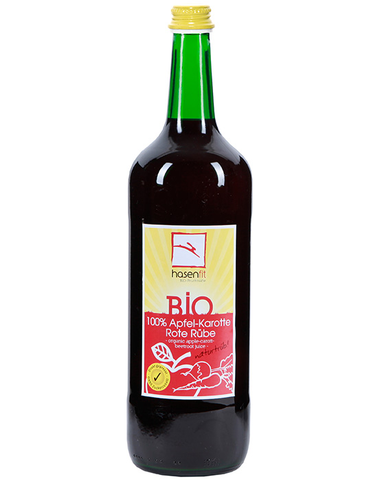BIO 100% Apfel Karotte Rote Rüben Saft
