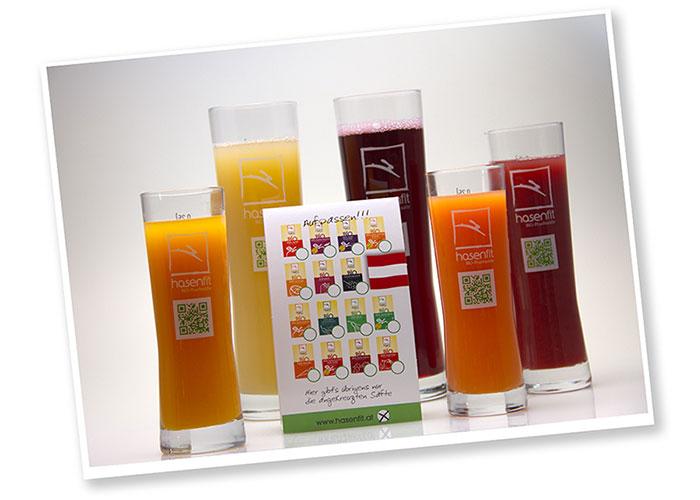 Händler & Gastronomie: hasenfit Gläser für die Gastronomie