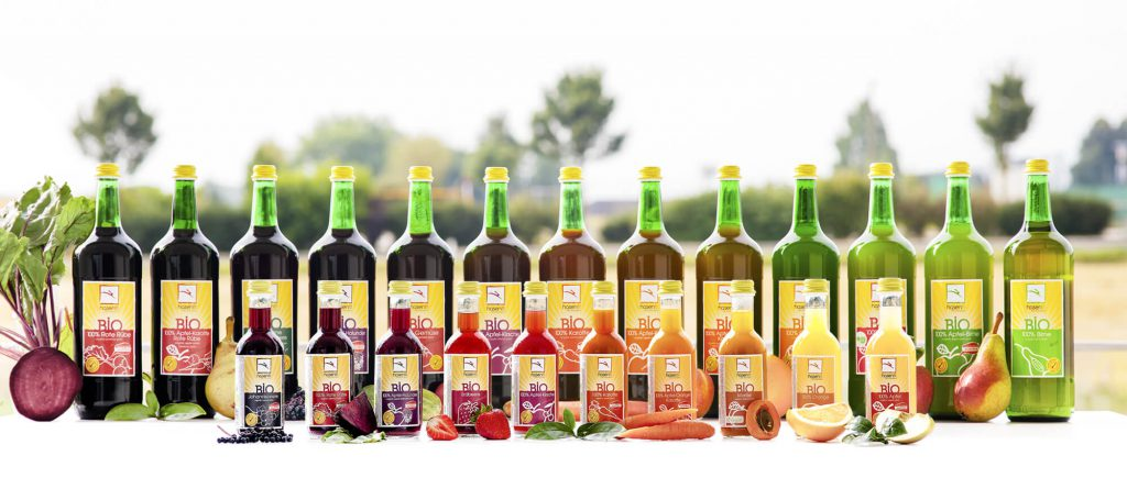 hasenfit BIO Fruchtsäfte - Sortiment