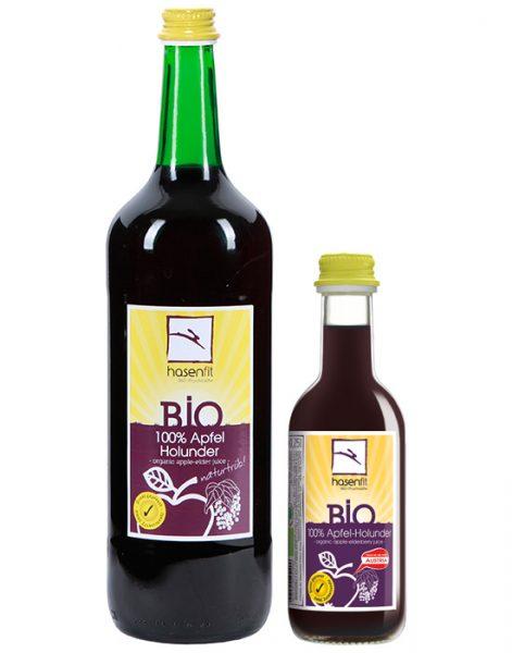 BIO 100% Apfel-Holunder Saft