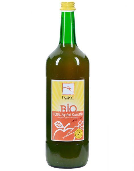 BIO 100% Apfel-Karotten Saft