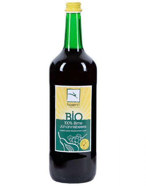 BIO 100% Birne-Johannisbeer Saft