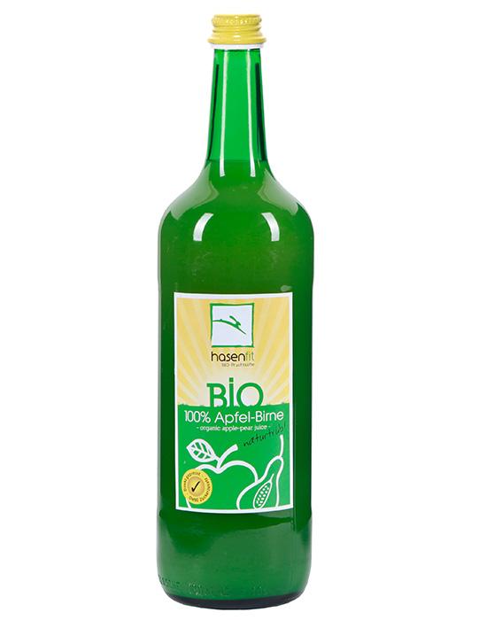 BIO 100% Apfel-Birnen Saft